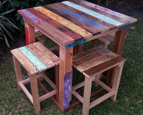 Recycled Timber Set