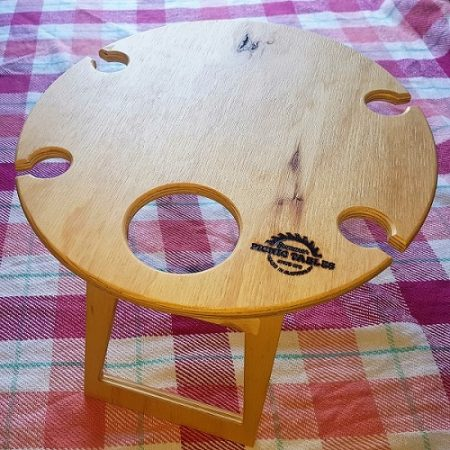 Plain Round Picnic Table