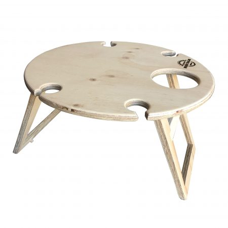 Natural Round Picnic Table