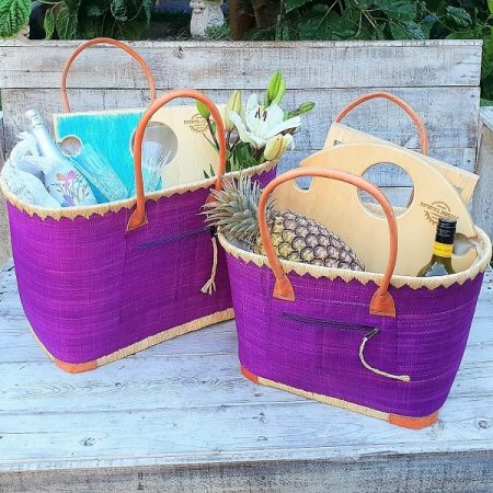 pair of picnic basket